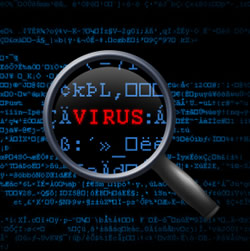 Hidden Computer Virus