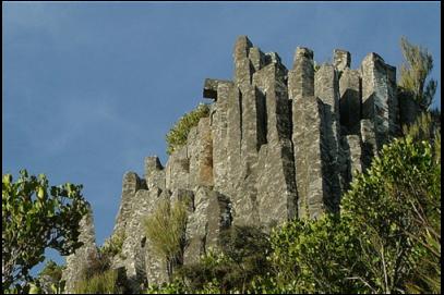 Columnar Basalt Landscape